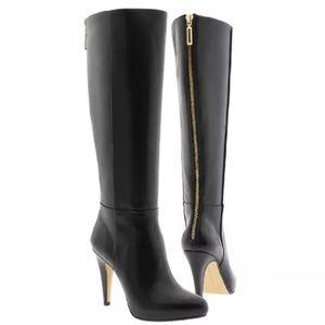 Banana Republic Dayna Tall Heeled Leather Boots